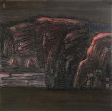 《老窑系列·11》68x68cm 写意系列 纸本水墨 2016年