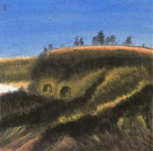 《老窑系列·10》68x68cm 写意系列 纸本水墨 2016年