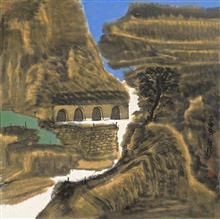 《老窑系列·9》68x68cm 写意系列 纸本水墨 2016年
