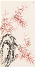 《春风》纸本水墨
