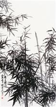 《君子清风》纸本水墨 2006年