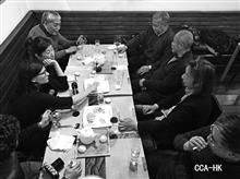 星星画会、798始创人黄锐会晤法国总统马克龙 (4)