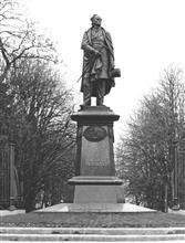 F.I.丘特切夫纪念碑