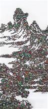 《古典今事NO.3》180×80cm 宣纸 水墨 丙烯 2014年
