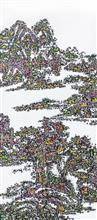 《古典今事NO.4》180×80cm 宣纸 水墨 丙烯 2014年