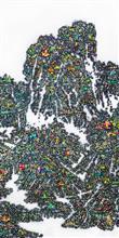 《家园NO3》230×120cm 宣纸 水墨 丙烯 2014年