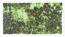 《梦回NO.4》105×180cm 宣纸 水墨 丙烯