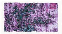 《梦回NO.1》80×145cm 宣纸 水墨 丙烯 2014年