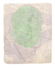 《水痕水衣No.1-5》,絹版、凹版,33×26cm,2011