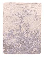 《水痕草衣No.2-4》,絹版、凹版,25×18cm,2011