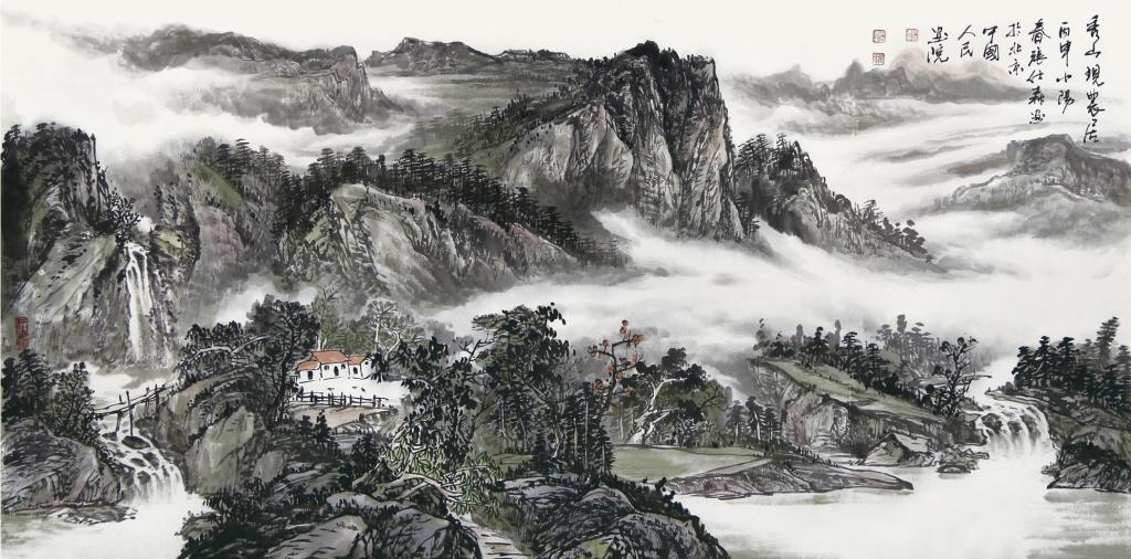 张仕森山水画作品