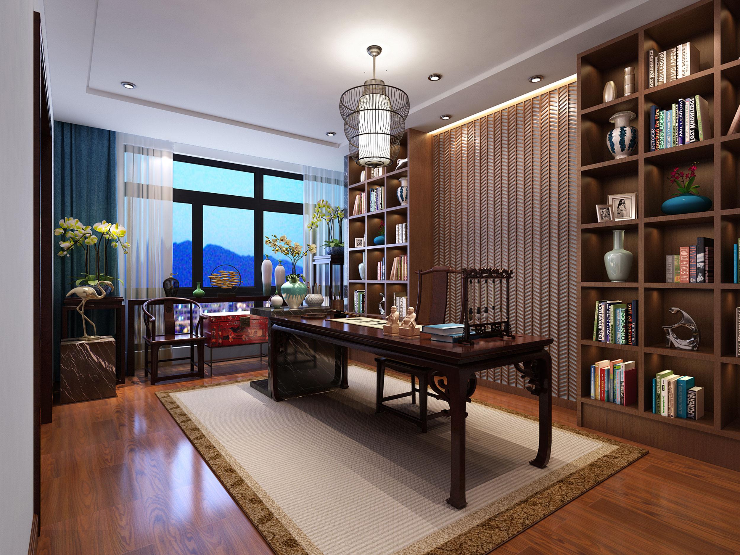 绿地公馆公寓—凝美希何空间设计