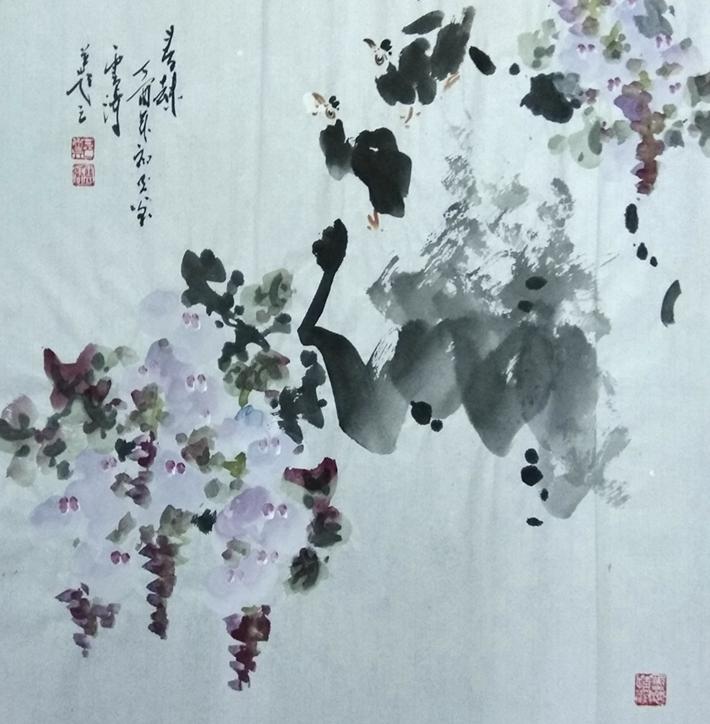 画家郑云涛小斗方作品欣赏